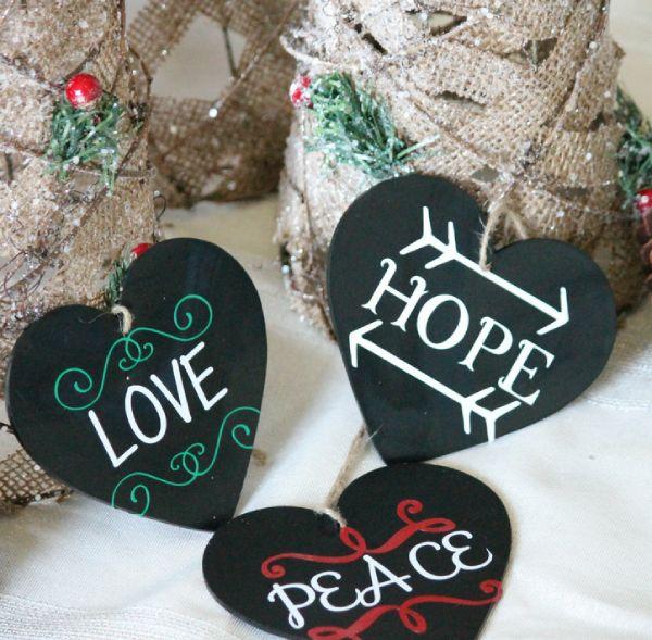 Christmas Wish Tree Ornaments