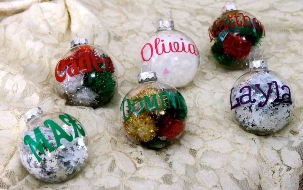 Silhouette Cameo Christmas Ornaments
