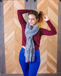 Free Crochet Pattern - Boho Macrame Crochet Shawl