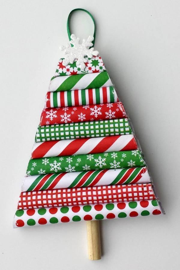 Handmade Paper Christmas Ornament