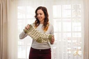 Free Knitting Pattern Christmas Stocking