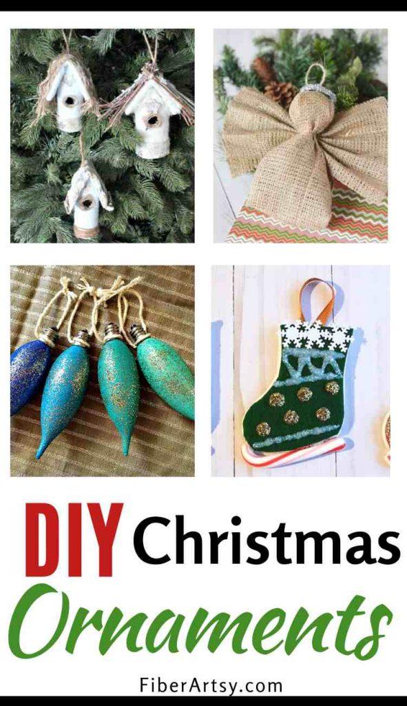DIY Handmade Christmas Ornaments