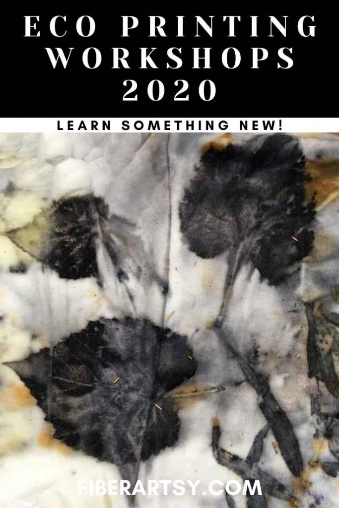Eco Printing Classes and Workshops in 2020