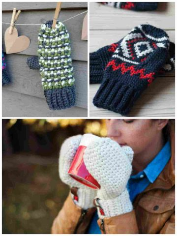 Free Crochet Patterns for Mittens