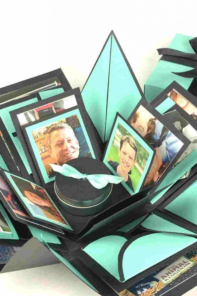 Exploding Memory Box - Valentine Craft and Gift Idea
