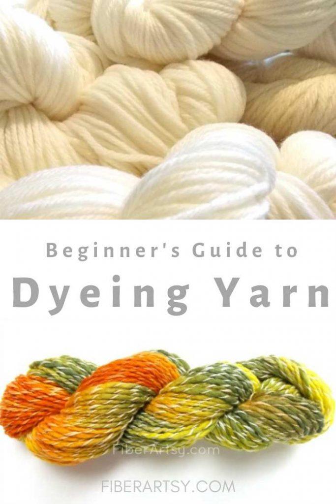 How to Dye Yarn and Wool