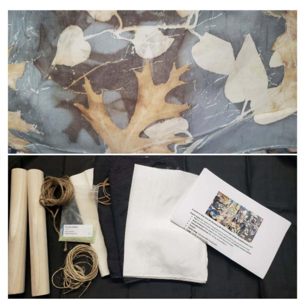 Complete Eco Printing on Silk Kit