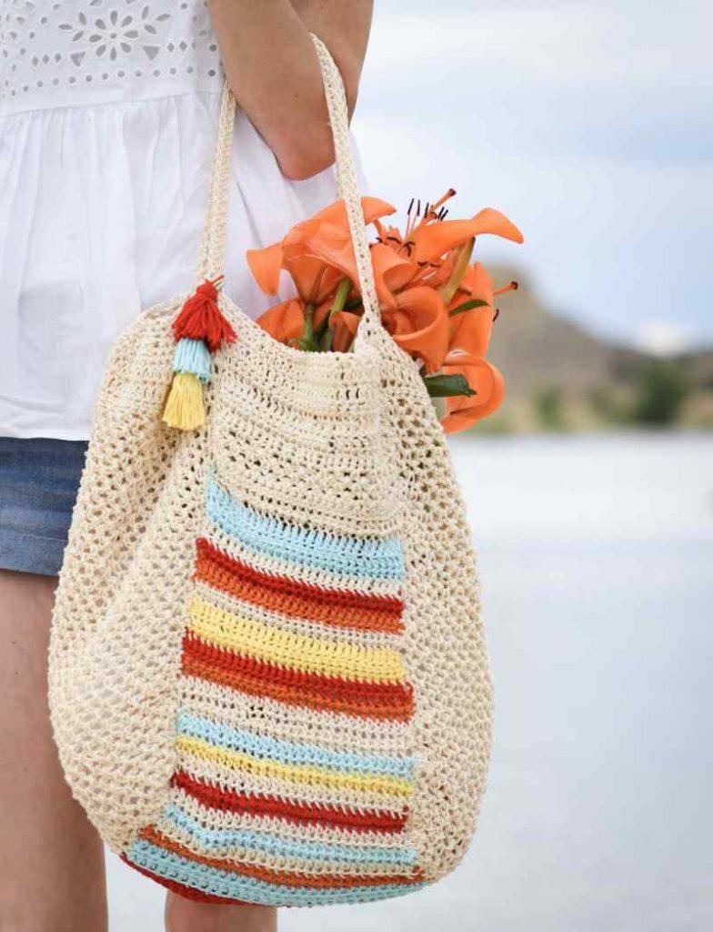 Crochet Pattern for Market Bag