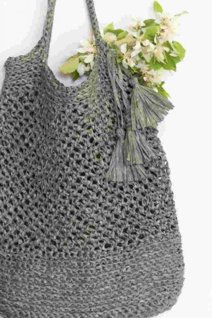 Crocheted Market Bag Pattern