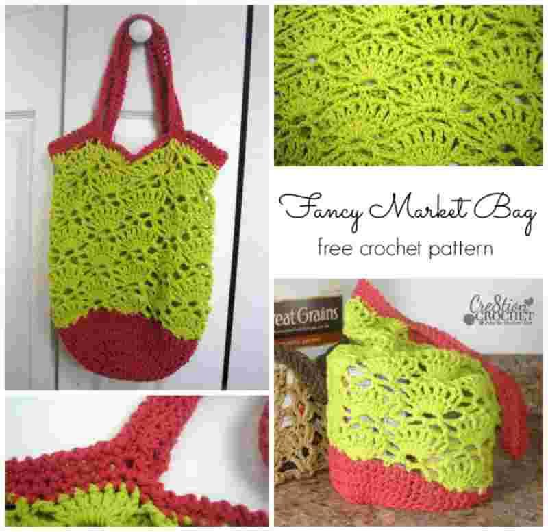 Fancy Crochet Market Bag