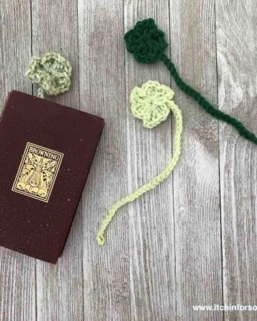 Crochet Patterns for a Bookmark