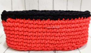 Oval Crochet Basket Pattern