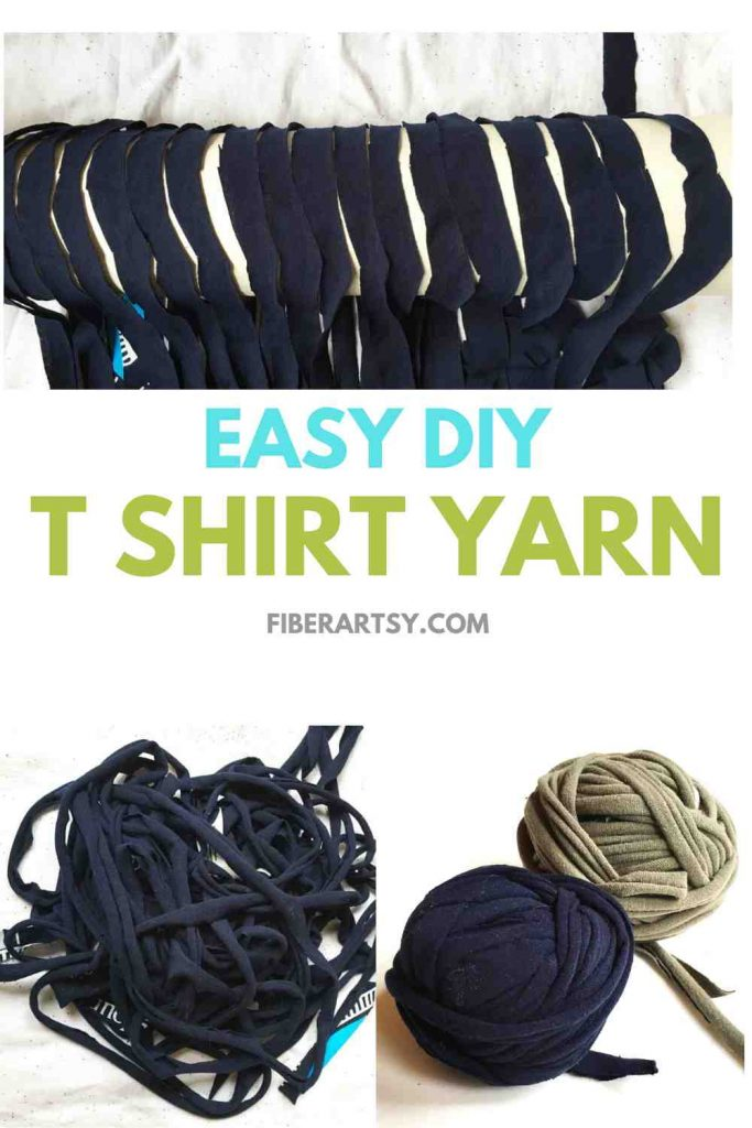 How to make TShirt Yarn