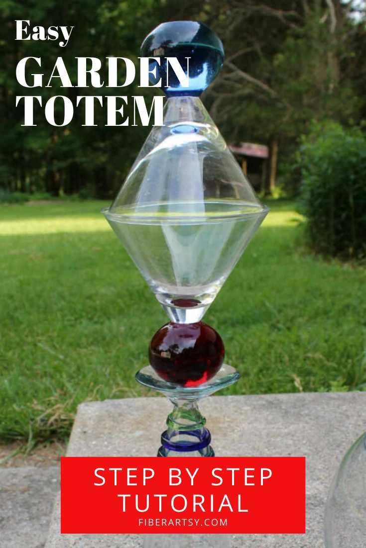 DIY Garden Totem