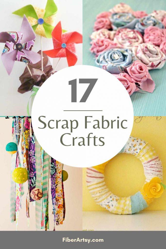 Easy Scrap Fabric Craft Ideas