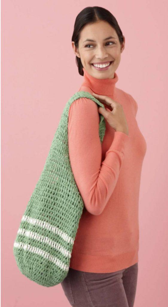 Free Crochet Pattern for Market Bags