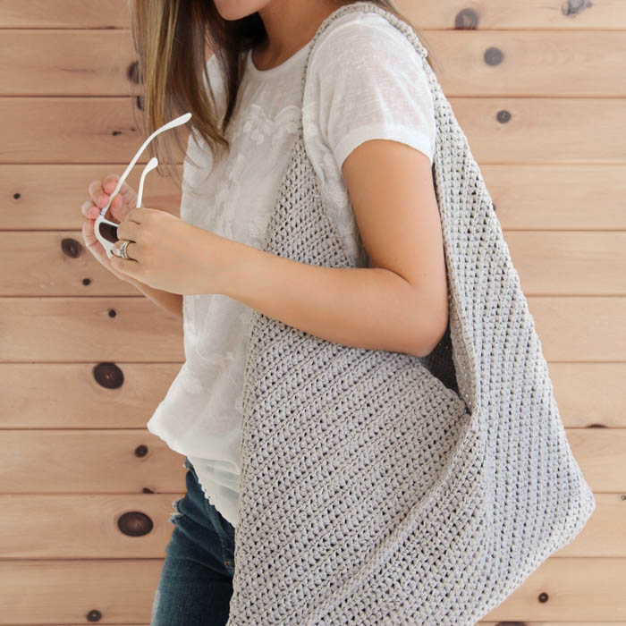 Easy Crochet Market Tote Bag