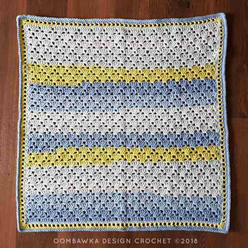 Beautiful Baby Boy Blanket Pattern