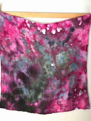 Ice Dyed Cotton Flour Sack Towel