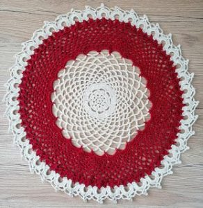 Ruby Doily Crochet Pattern