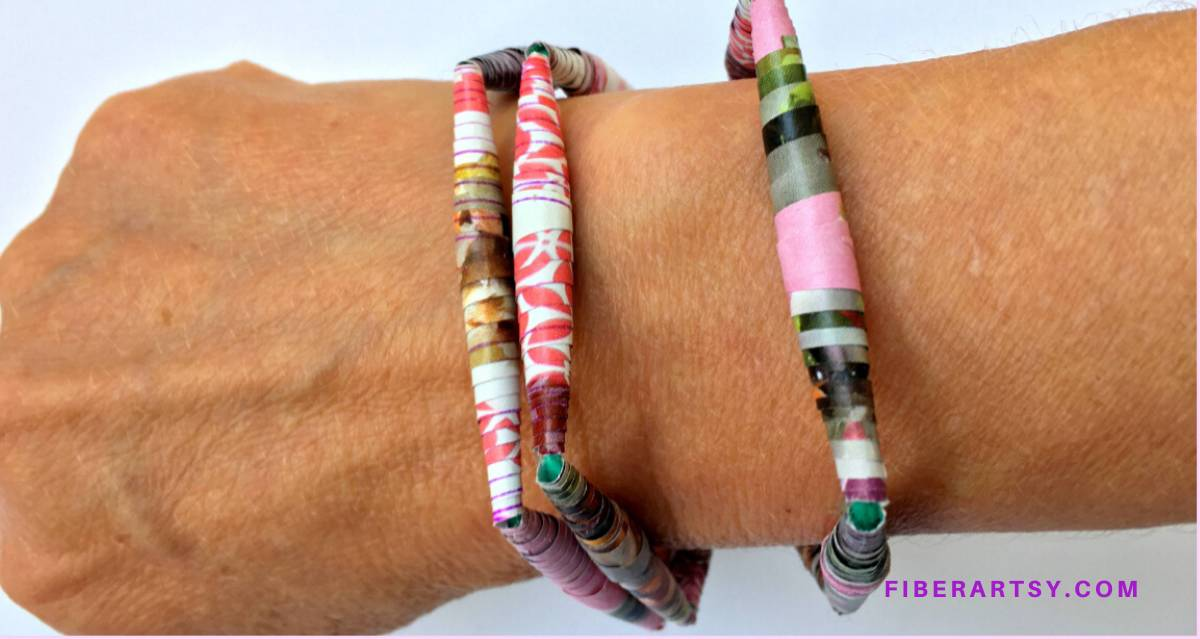 Handmade DIY Paper Beads