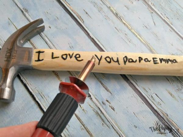Personalized Hammer for Dad