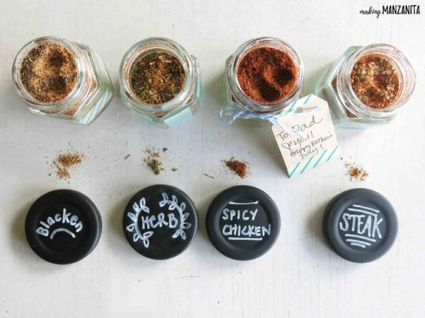 DIY Father's Day Gift Ideas - Spice rub recipes
