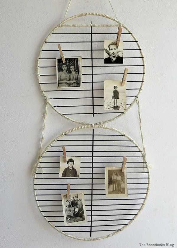DIY Wall Photo Display