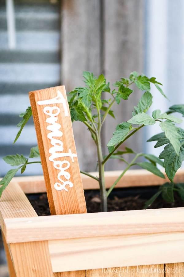 Inlay DIY Garden Markers