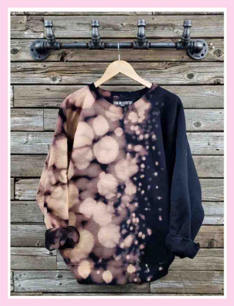 Bleach Reverse Dyed Sweatshirt