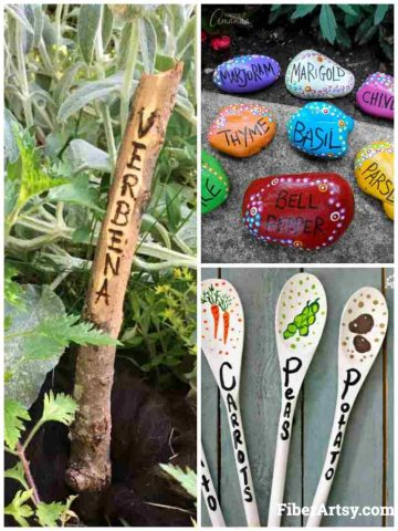 Easy DIY Plant Markers and Labels