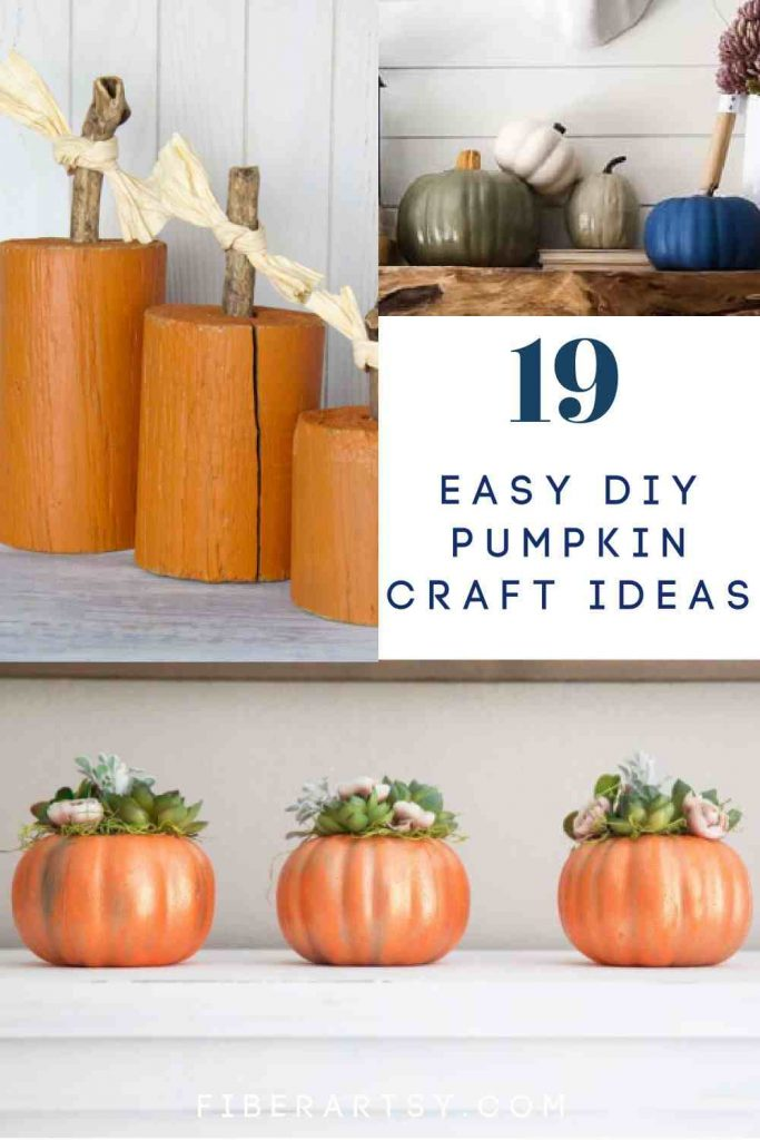 Easy Pumpkin Crafts for Adults