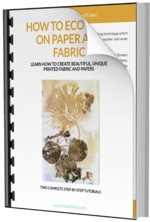 Eco Printing on Fabric and Paper Ebook