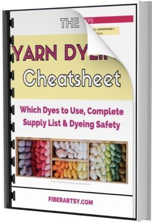 Yarn Dyeing Cheatsheet Ebook