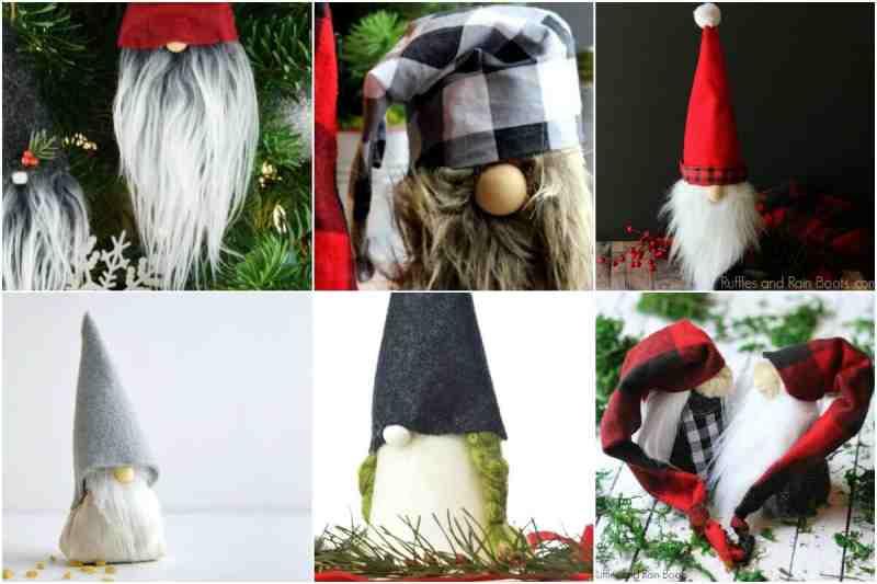 DIY Christmas Crafts and Decor - Christmas Gnomes