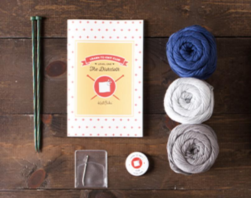 Learn how to knit kits gift idea
