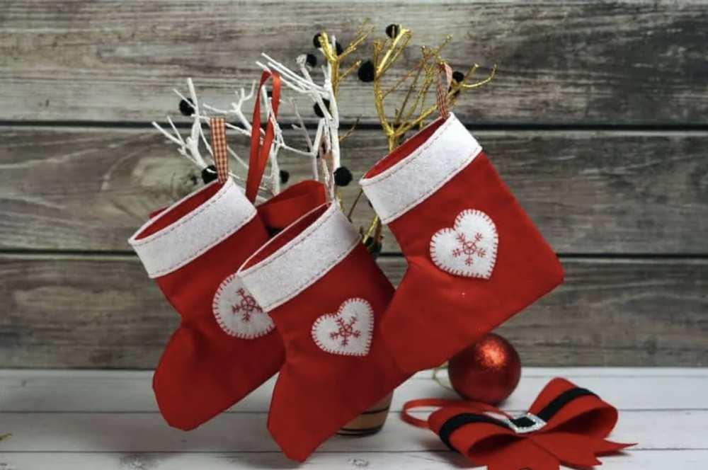 DIY Mini Stocking Gift Card Holder
