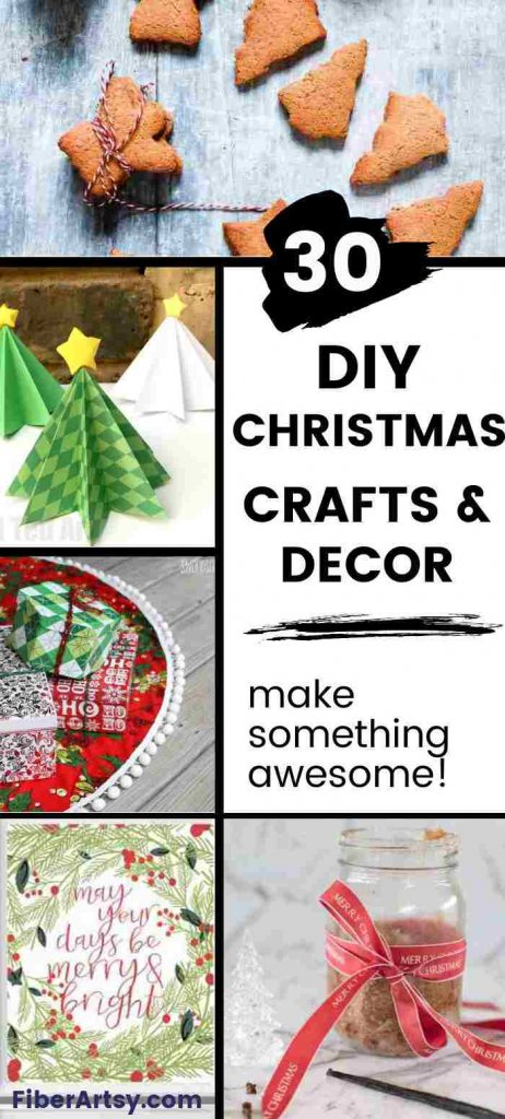 Collection of DIY Christmas Crafts and Decor Ideas