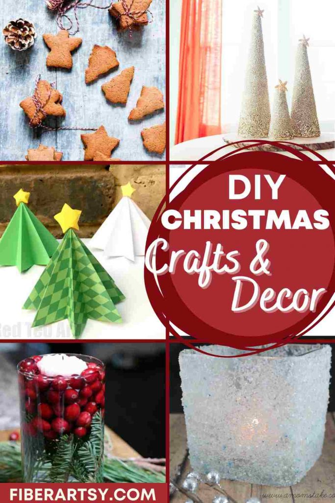 a Collection of DIY Christmas Decor and Craft Ideas