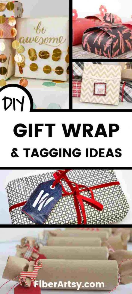 Creative Gift Tags and Wraps