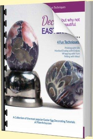 Decorating Easter Eggs - 4 tutorials