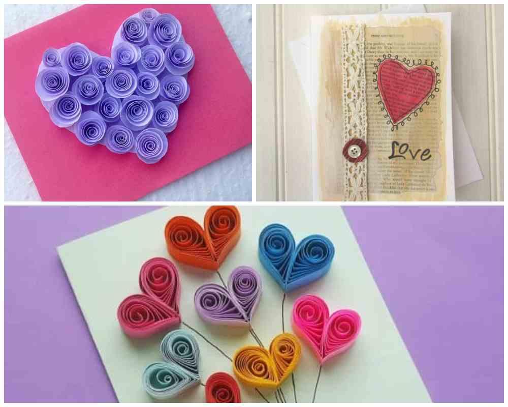 Cute ideas for handmade Valentine Cards