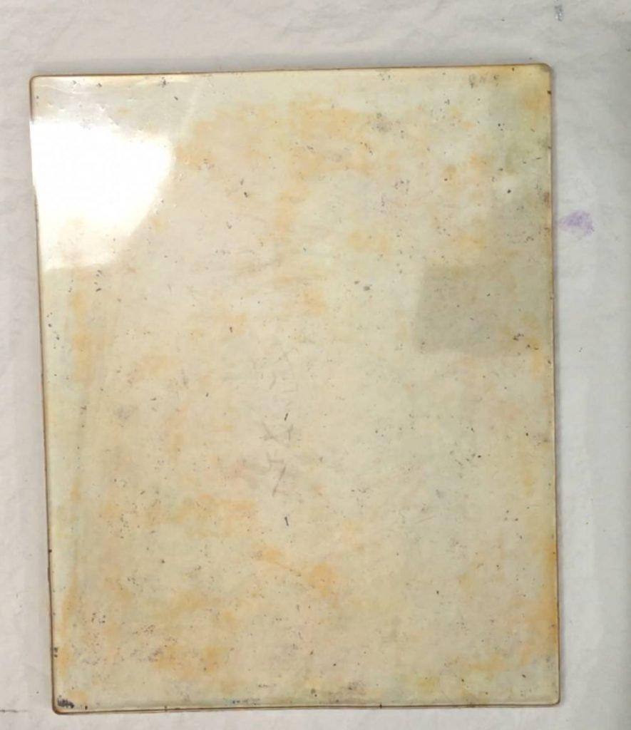 Clean Gel Printing Plate