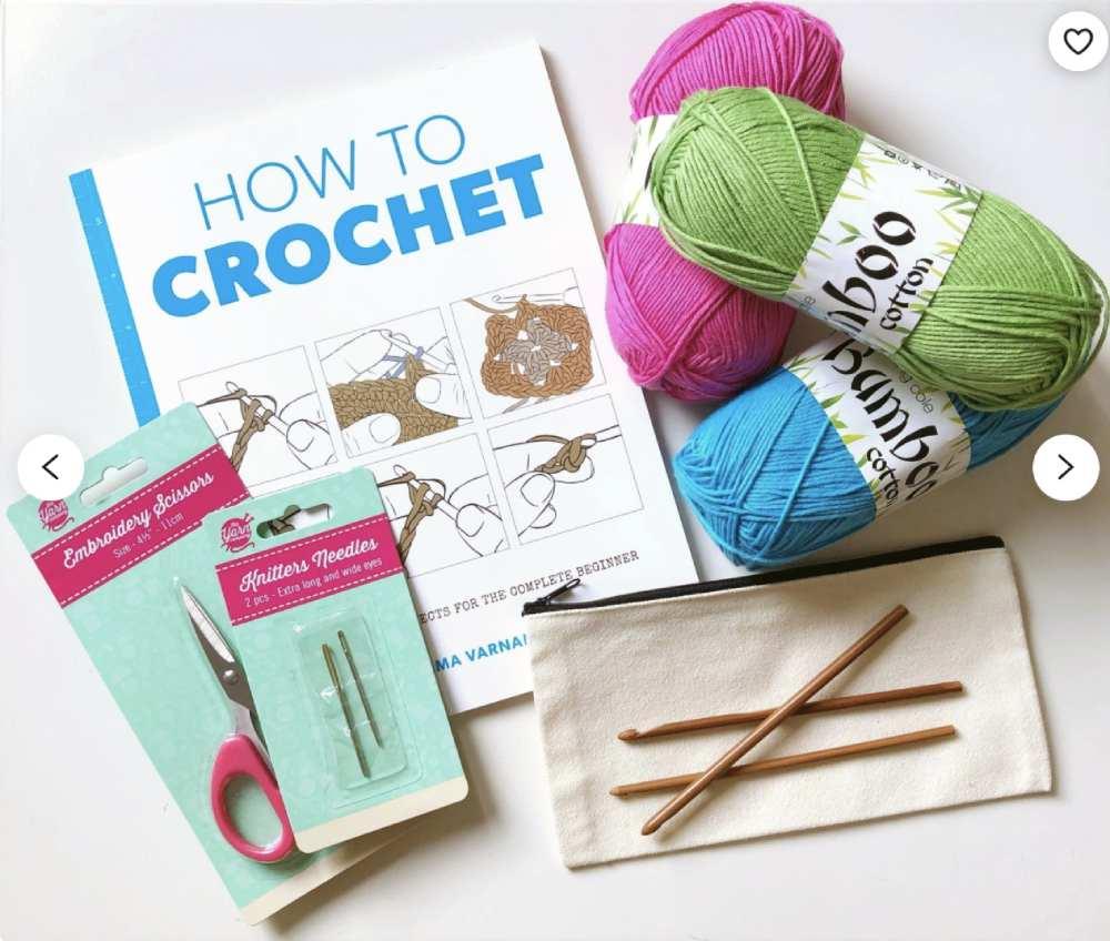 Free crochet headband patterns: Learn how to crochet beginner's kit