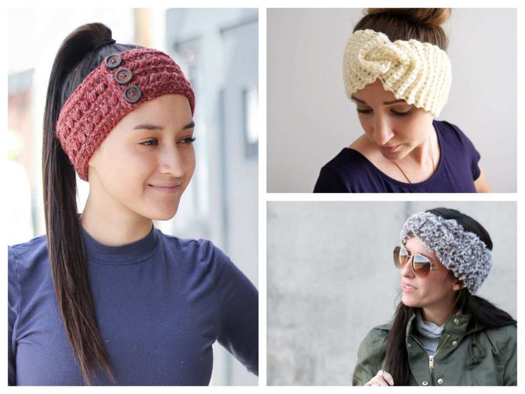 Crochet Earwarmer Patterns and Headband Patterns