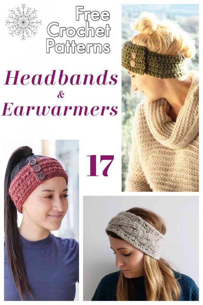Crochet headbands free patterns