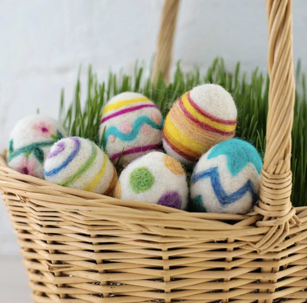 Needle Felting Kit for Easter Eggs