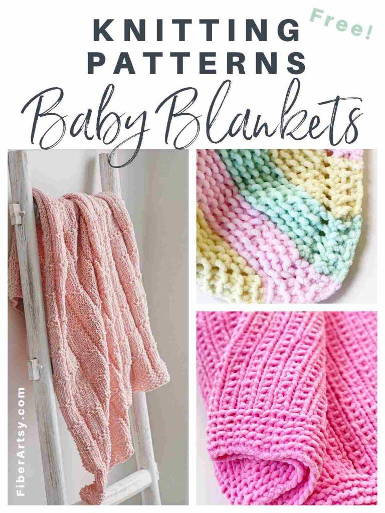 Listing of baby blanket knitting patterns