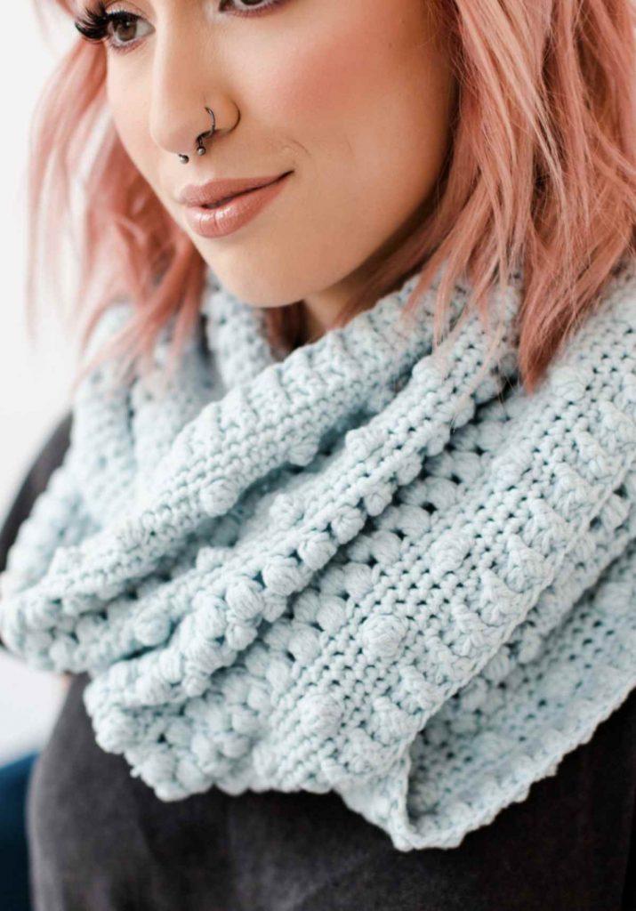 Cowl crochet kit