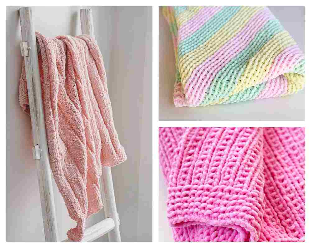 Free knitting patterns for baby blankets, loveys and afghans